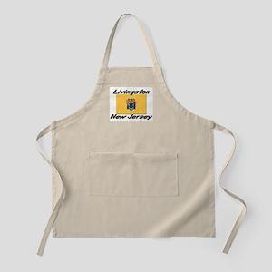 Livingston New Jersey BBQ Apron