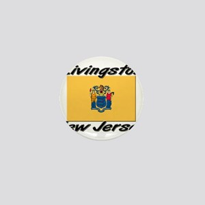 Livingston New Jersey Mini Button