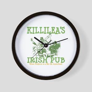 Killilea's Irish Pub Wall Clock
