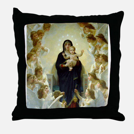 Cool The virgin mary Throw Pillow