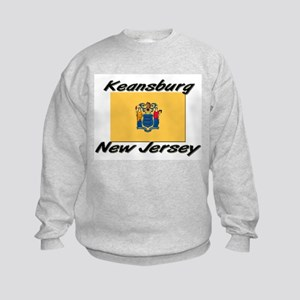 Keansburg New Jersey Kids Sweatshirt