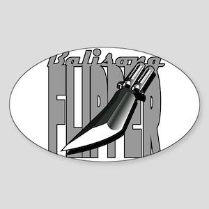 Balisong Flipper Katana Sticker