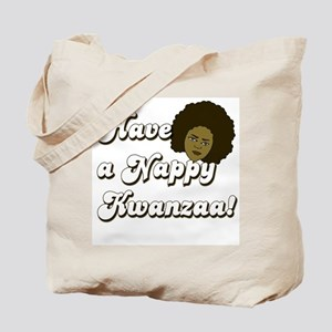 Nappy Kwanzaa Tote Bag