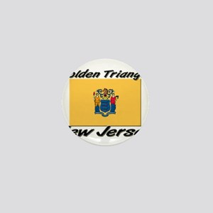 Golden Triangle New Jersey Mini Button