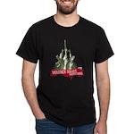 Violence Solves Everything Black T-Shirt