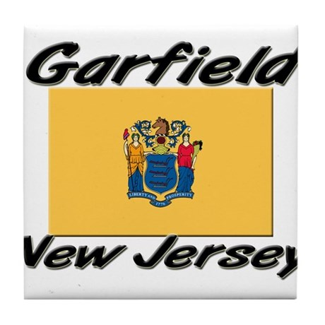 Garfield New Jersey Tile Coaster