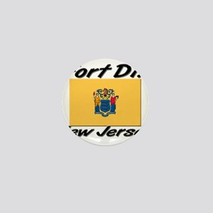 Fort Dix New Jersey Mini Button