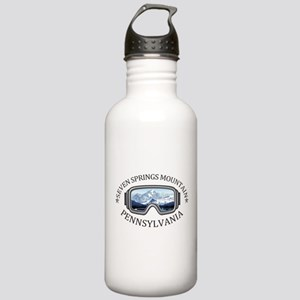 Seven Springs Mountain Stainless Water Bottle 1.0L