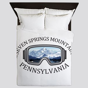 Seven Springs Mountain Resort - Seve Queen Duvet