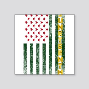 Juneteenth Freedom Day American Flag with Sticker