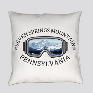 Seven Springs Mountain Resort - Everyday Pillow