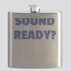 Filmmaker Sound Ready Gift for Film Crew Flask