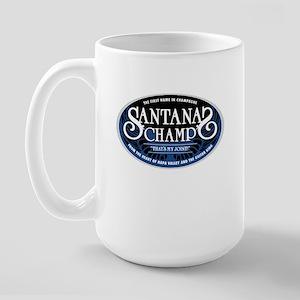 Santana's Champ' Large Mug