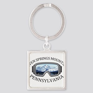 Seven Springs Mountain Resort - Seven Keychains