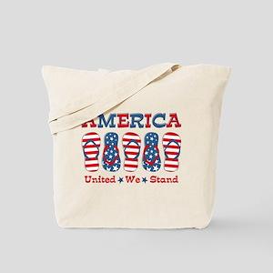 Flip Flop America Tote Bag