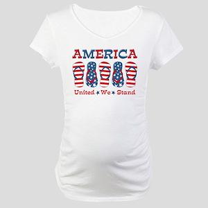 96b55fc95ef Kids Fourth Of July Maternity T-Shirts - CafePress
