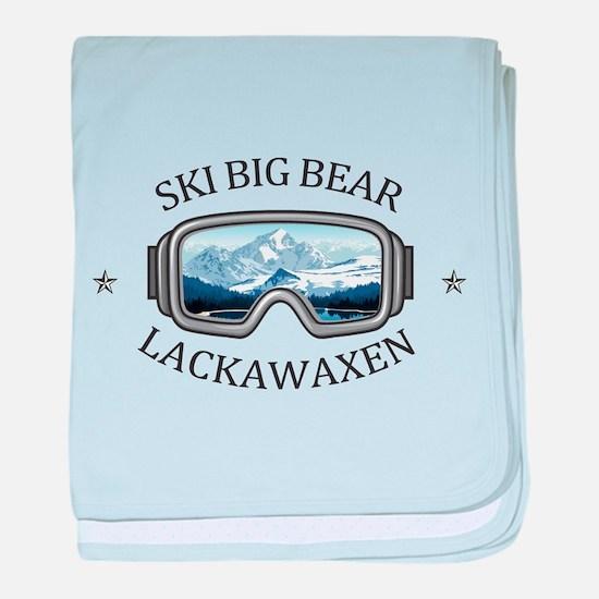 Ski Big Bear - Lackawaxen - Pennsyl baby blanket