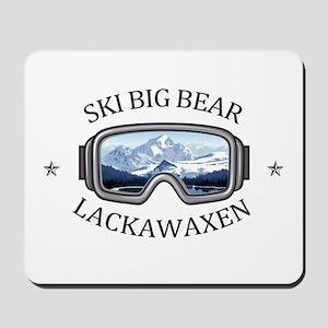 Ski Big Bear - Lackawaxen - Pennsylvan Mousepad