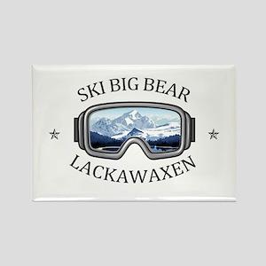 Ski Big Bear - Lackawaxen - Pennsylvania Magnets