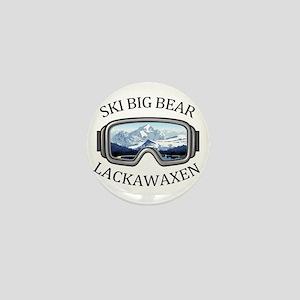 Ski Big Bear - Lackawaxen - Pennsylv Mini Button