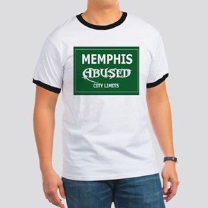 Abused Designs City Limits Ringer T