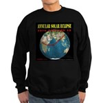 2010 Annular Solar Eclipse Sweatshirt (dark)
