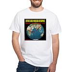 2010 Annular Solar Eclipse White T-Shirt