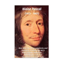 French Philosopher: Blaise Pascal: Evil of Men