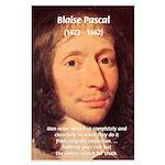 Mathematician: Blaise Pascal Large Poster