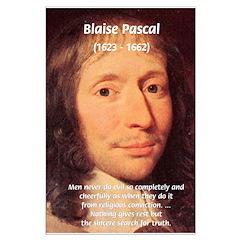 Mathematician: Blaise Pascal Posters