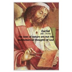 Euclid Maths: Laws of Nature Mathematical God
