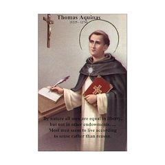Thomas Aquinas: Men Live by Sense not Reason