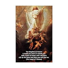 Jesus Christ Painting: Split Wood & I Am There