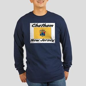 Chatham New Jersey Long Sleeve Dark T-Shirt