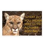 You Voted Against Ron Paul? Postcards (Package of