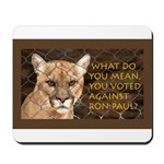 You Voted Against Ron Paul? Mousepad