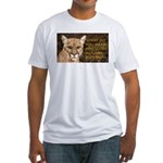 You Voted Against Ron Paul? Fitted T-Shirt