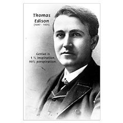 Thomas Edison: Genius Inspiration Perspiration