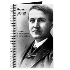 Thomas Edison: Genius Journal