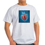 "Ash Grey T-Shirt/ ""Broken Heart: Arise"""