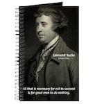 Edmund Burke: Good & Evil Journal