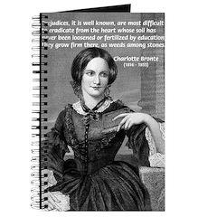 Novelist Charlotte Bronte Journal