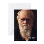 Charles Darwin: Evolution Greeting Cards (Package