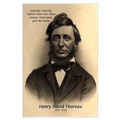 Henry David Thoreau: Simplify! Love Truth