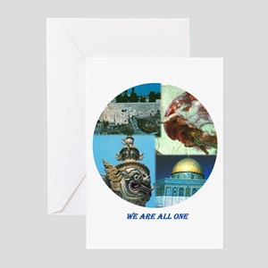 One world - Greeting Cards (Pk of 20)