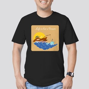 Apparel: Kids & Adults Men's Fitted T-Shirt (dark)