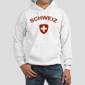 Switzerland Schweiz Hooded Sweatshirt