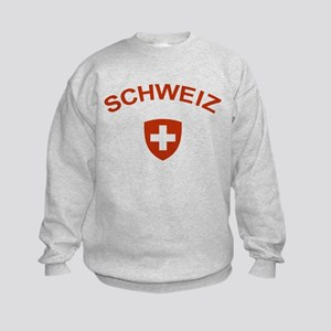 Switzerland Schweiz Kids Sweatshirt