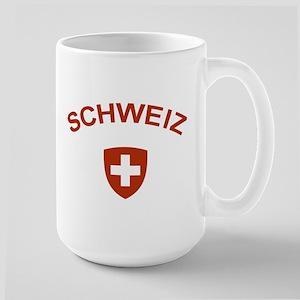Switzerland Schweiz Large Mug