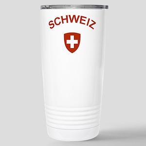 Switzerland Schweiz Stainless Steel Travel Mug